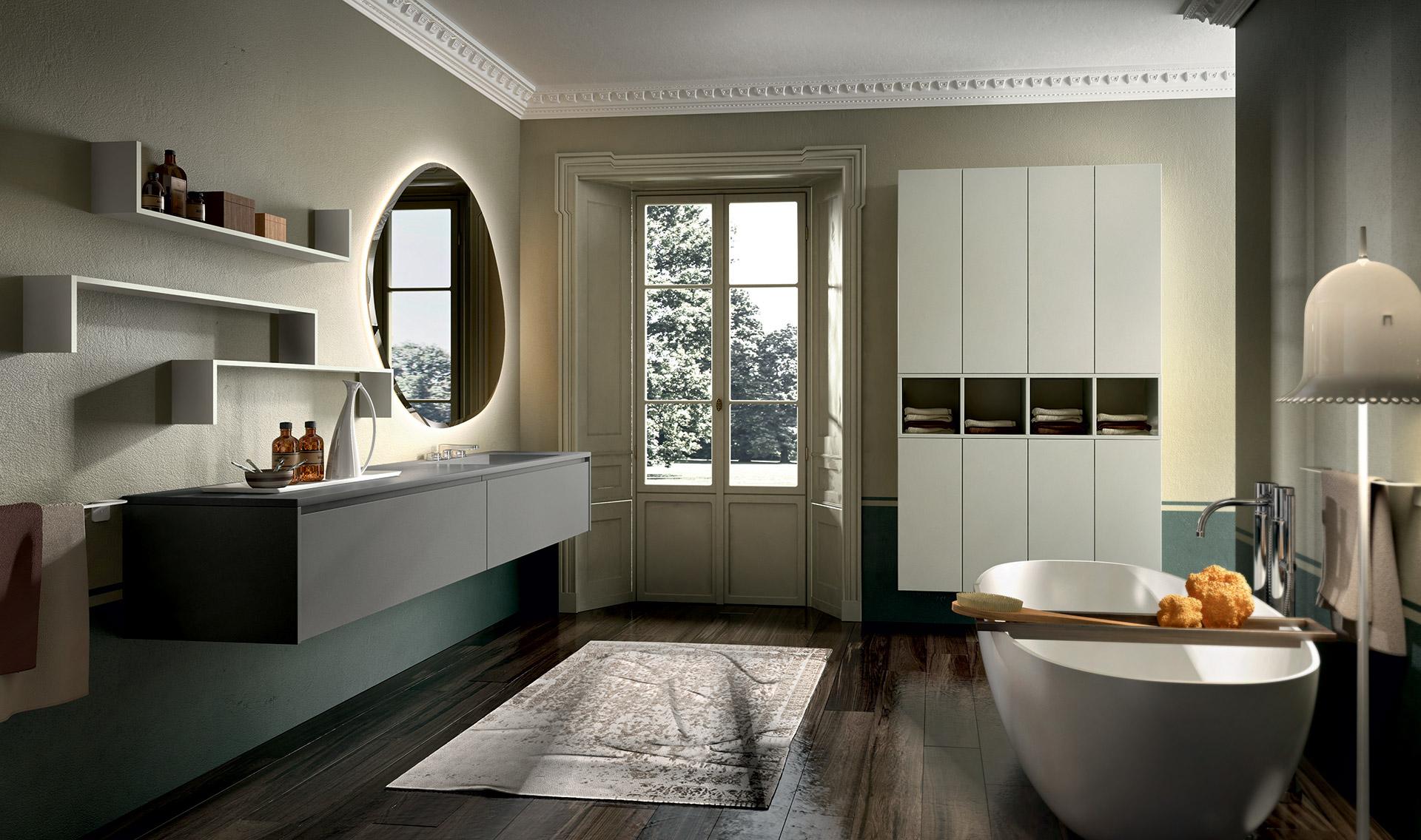 Eos aura concept cuisine salle de bain spa for Vendita mobili bagno